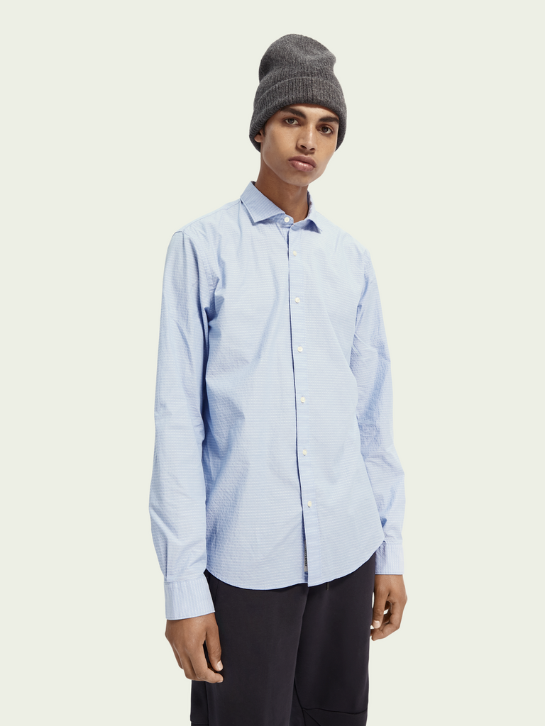 Scotch & Soda - Regular Fit Shirt - Classic Blue