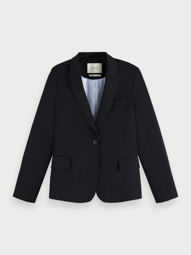Maison Scotch - Classic Tailored Blazer - Night