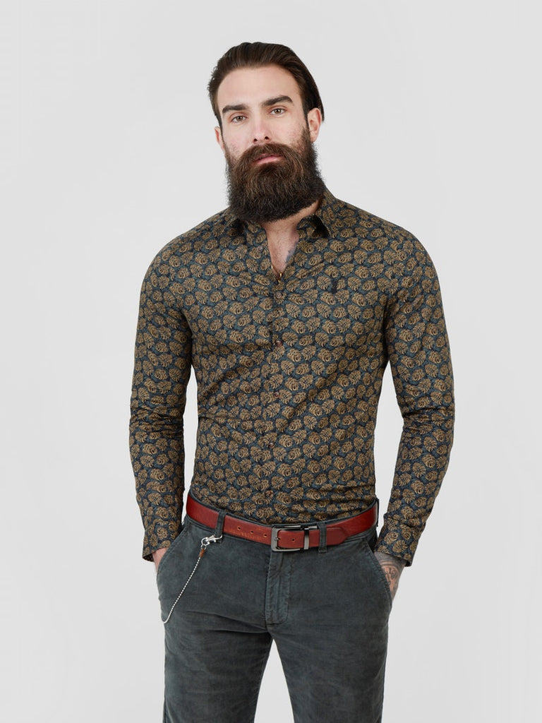 Pearly King - Yield Shirt - Khaki