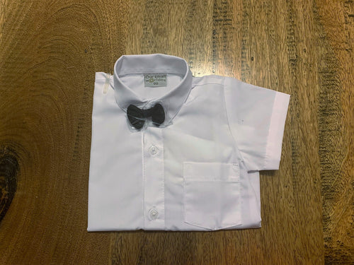 637 - Short Sleeve White Shirt