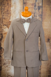 1254 - 3 Piece Sand Jacket Suit