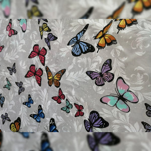 Butterflies Grey Snug Small