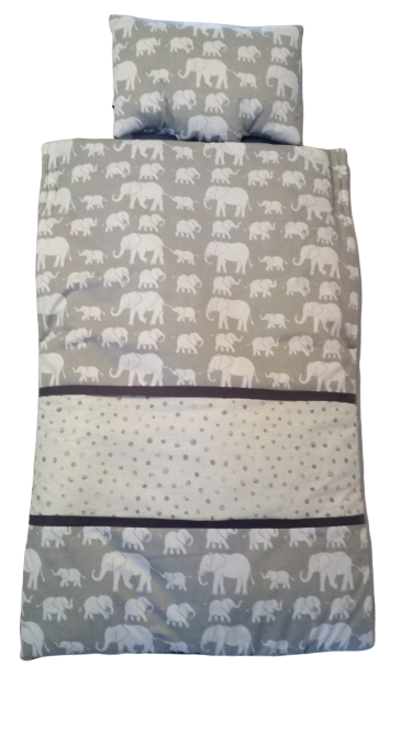 Elephants & Spots grey Snug small
