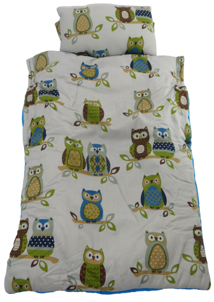 Owls Teal Snug Large