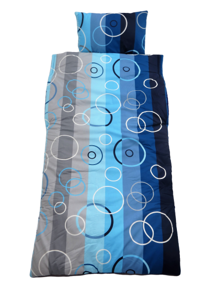 Blue Circles Snug Large