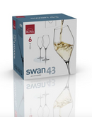 "RONA COPA	SWAN	Art. No. 6650 430  Wine  430ml 14½oz  H256mm 10"" D84mm 3¼"""