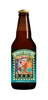 Lost Coast Cerveza Artesanal Great White Belgiam Style White 12 onz. 4.80% Alc.By Vol.