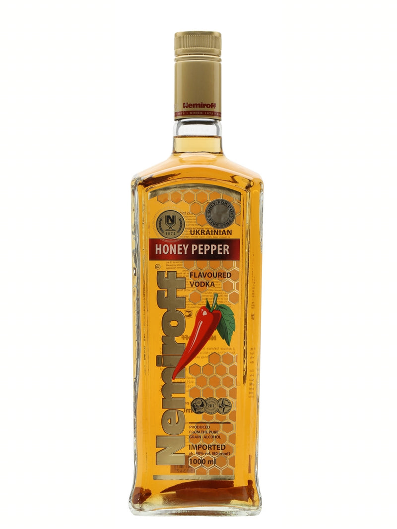 Nemiroff Vodka Honey Pepper 750ml.