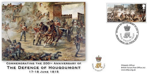 C01A - Commemorative Cover 200th Anniversary of The Defence of Hougoumont