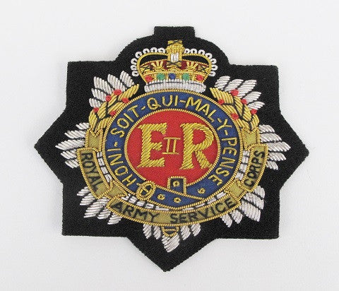 B1205 - Royal Army Service Corps BLazer Badge EIIR