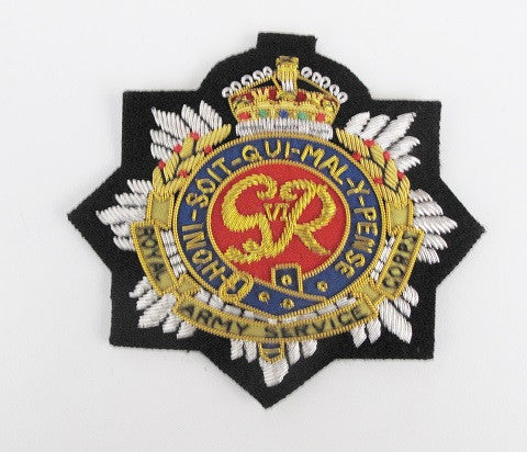 B1205 - Royal Army Service Corps Blazer Badge GVIR
