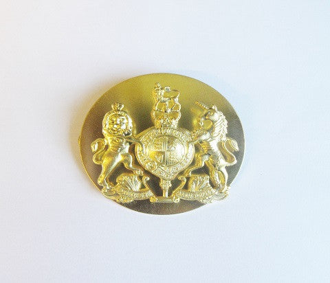 R50 - WO1 Brass Rank Badge