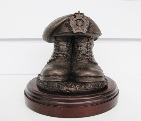 F15- Boots and Beret Figurine