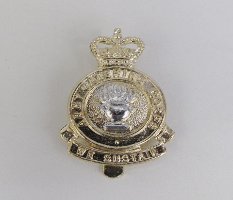 C29- Army Catering Corps Cap Badge We Sustain