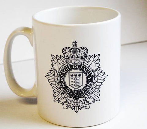 M02 - Royal Logistic Corps white Mug