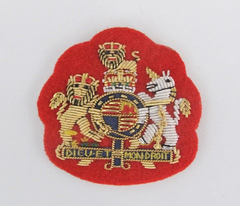R46 - WO1 Mess Kit Badge