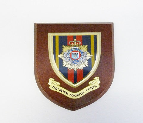 P5- Royal Logistic Corps Silk Screened Plaque