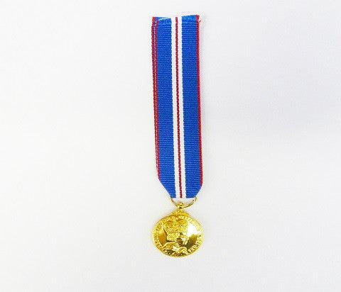 M6 - Queens Golden Jubilee Miniature Medal