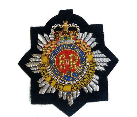 B1203 - RASC & RCT Association EIIR Blazer Badge
