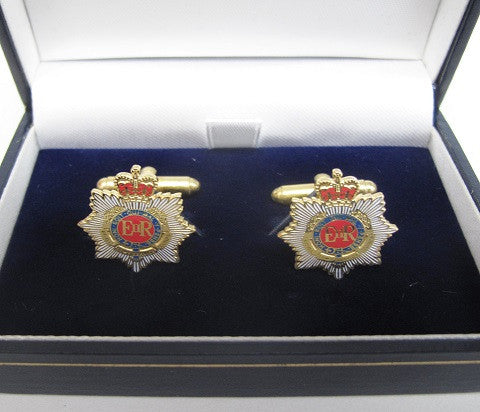 C21 - Royal Army Service Corps Cufflinks EIIR