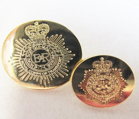 B313 - Royal Corps of Transport Engraved Blazer Button