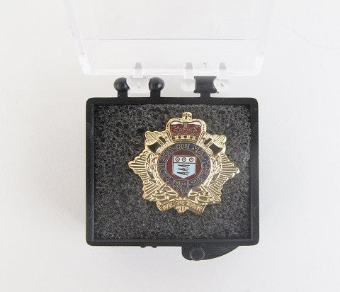 B104 - Royal Logistic Corps Brooch Lapel Badge