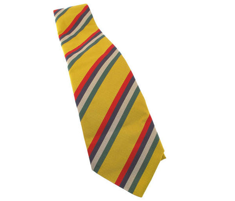 T180 -  Sgt's Club Silk Tie Royal Logistic Corps