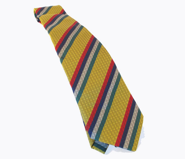 T17 - Sgt's Club Tie Silk Non Crease