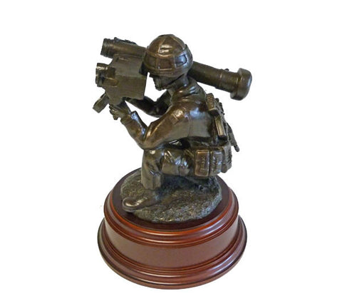 F17 - Javelin Firing Post Figurine RLC