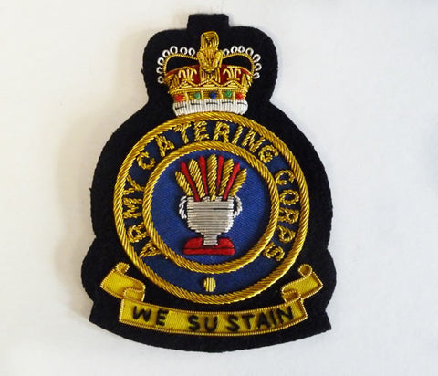 B62 - Army Catering Corps Blazer Badge