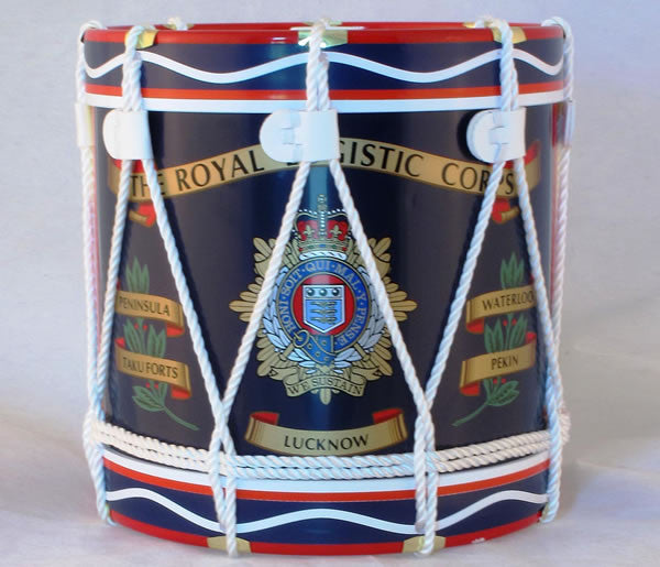I10 - Royal Logistic Corps Regimental Drum Ice Bucket