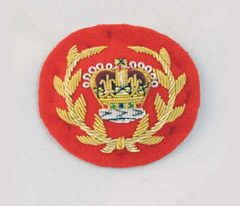 R45 -Crown WO2 RQMS Mess Kit Badge