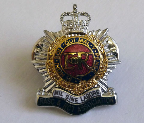L12 - RASC & RCT Association Lapel Badge