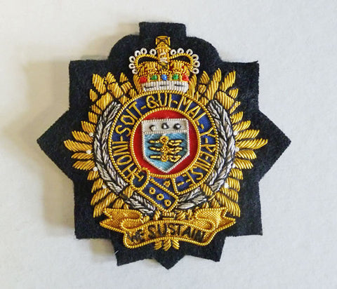 B61 - Royal Logistic Corps Blazer Badge