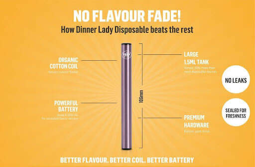 Dinner Lady Disposable