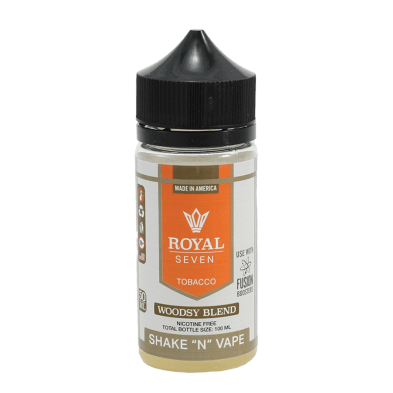 Royal Seven Woodsy Blend Tobacco E Liquid UK