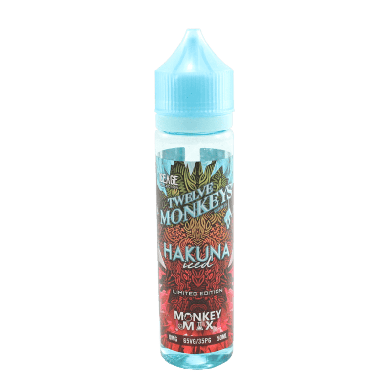 12 Monkeys Hakuna Iced 50ml
