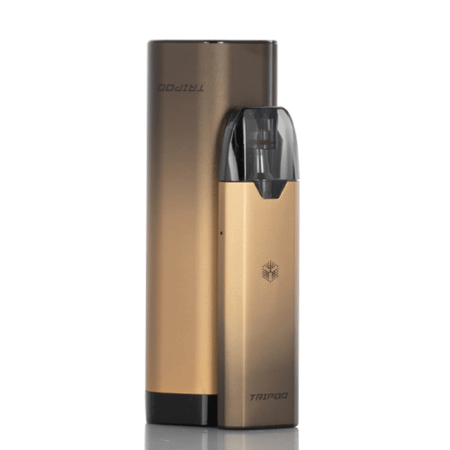 Uwell Tripod Pod Vape Kit - Black and Gold