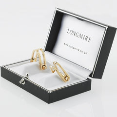 DOUBLE STIRRUP CUFFLINKS