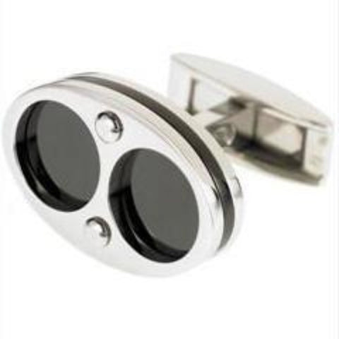 CONCENTRIC CIRCLE CUFFLINKS