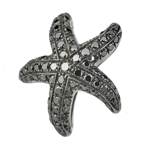 STARFISH DIAMOND CUFFLINKS