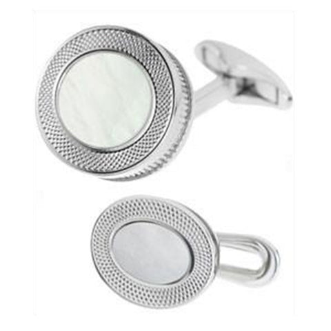 MOTHER OF PEARL WITH REEDED EDGE DRESS SET