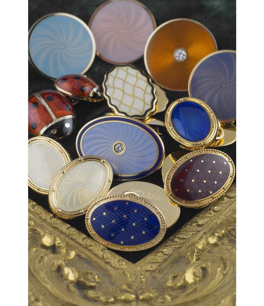 HAND ENAMELLED COLLECTION FROM