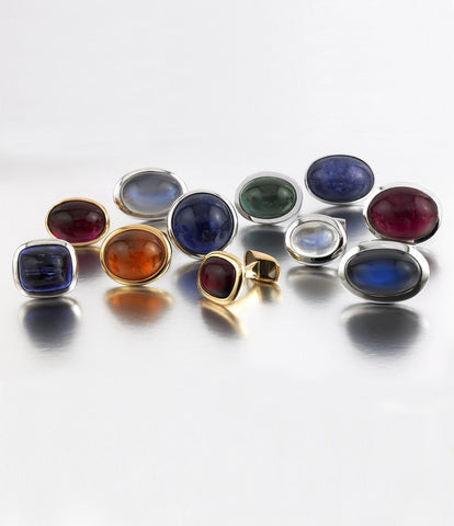 unique cabochon gem collection from