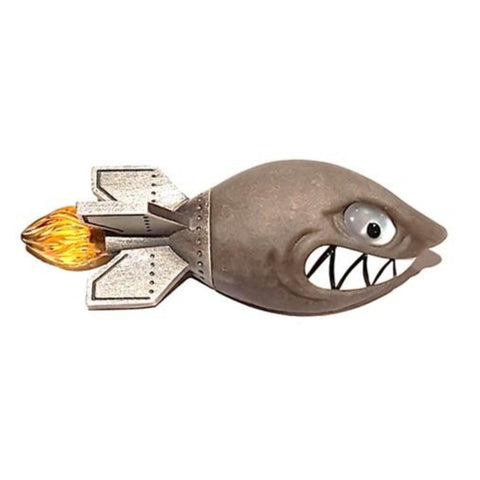 SHARK TORPEDO CUFFLINKS