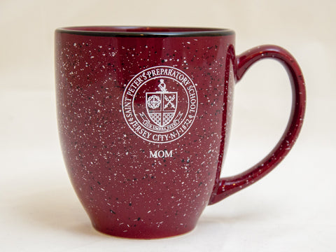 Prep Mom Speckled Mug
