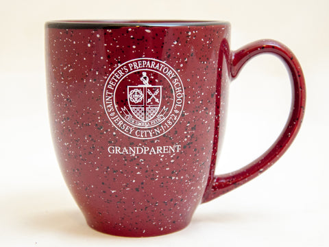 Prep Grandparent Speckled Mug
