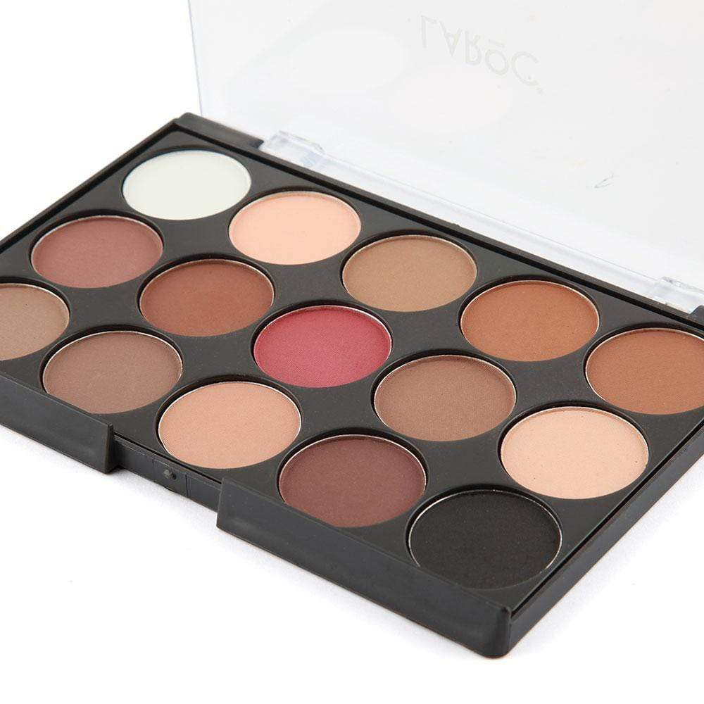 LaRoc 15 Colour Eyeshadow - Warm