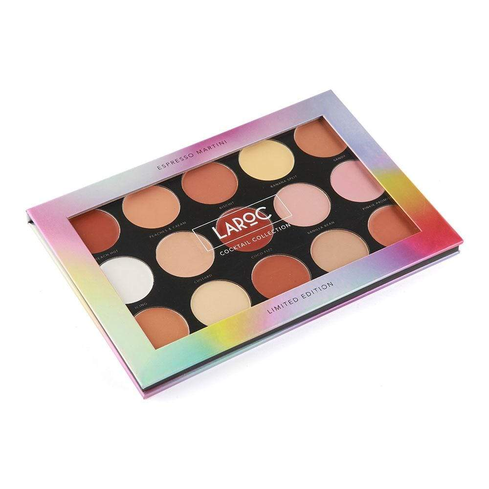 LaRoc 15 Colour Cocktail Palette - Espresso Martini