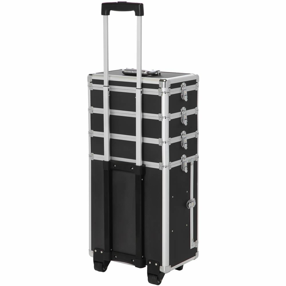 LaRoc Large Makeup Trolley Case - Black